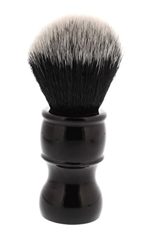 West Coast Shaving ALL BLACK TUXEDO Ultra Soft Synthetic Shaving Brush. Highest Quality, Dense Fibers