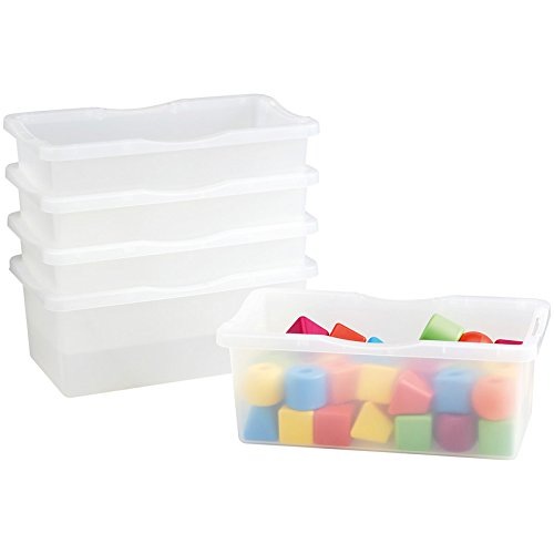 Nathan 5 Pieces Small Transparent Trays