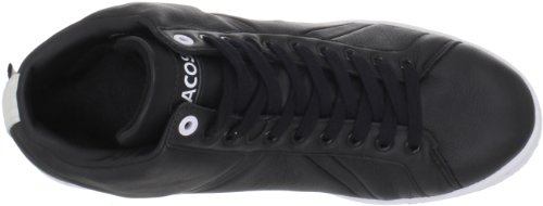 Lacoste Hombres Bryont Mid Cr Sneaker Negro / Blanco