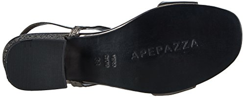 Apepazza Eva Metal Damen Slingback Grau (Pewter)