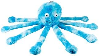 Blue Mommy Octopus Dog Toy Soft and Huggable 38cm