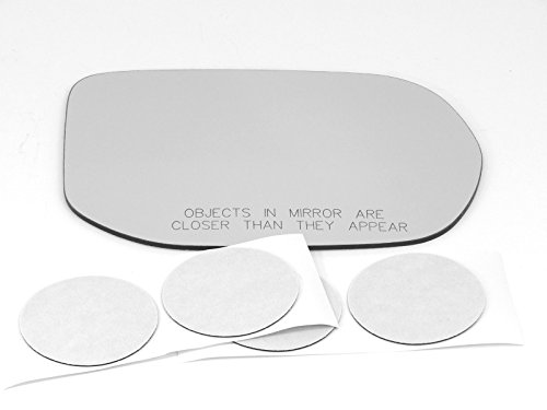 - VAM Fits 06-11 Honda Civic (Hybrid Only) Convex, Right Passenger Side Mirror Glass Lens w/o Backing Plate. Comes with Adhesive, USA. (Does Not Fit 4dr or 2dr)
