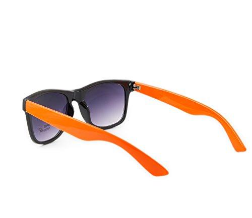 Miroir rétro Mode Unisexe vintage orange Femme Lunettes Homme Miroir Weiß soleil 1980 sunglasses nbsp;de classique de panthère qwrOC0xq