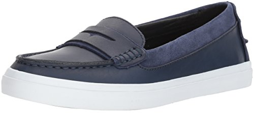 Cole Haan Women's Pinch Weekender LX Penny Loafer, Marine Blue Vachetta, 7 B US (Shoes Womens Haan Cole Loafers)