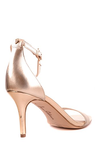 Gold Leather Heels Women's Edelman MCBI266012O Sam qPgCxStwS