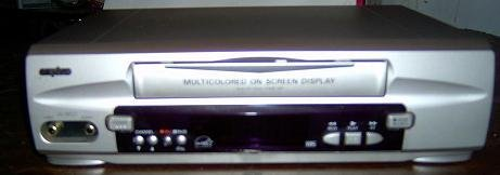 Vcr Player Video Player only Recorder Vcr Vhs Stand Alone Vcr Player Vwm-290 Tv (Sanyo Analog Tv)