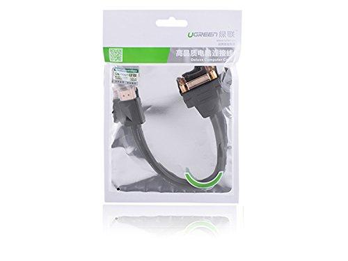 DVI auf HDMI Ugreen DVI Buchse auf HDMI Adapterkabel HDMI auf DVI-I 24+5 High Speed HDTV bis zu 1080P Full HD Vergoldete Kontakte 22cm