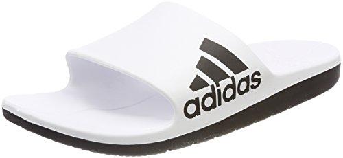 y Ftwbla de 000 Cloudfoam Adidas Blanco para Hombre Negbas Negbas Zapatos Piscina Playa Aqualette AvXcc64