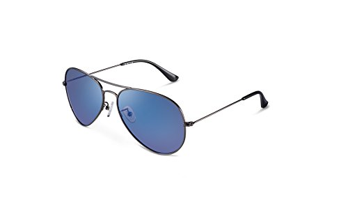 Unisex Protección De c2 – Uv400 Polarizadas Gafas Clásicas Kalla Sol Azul nxOwAwHqT