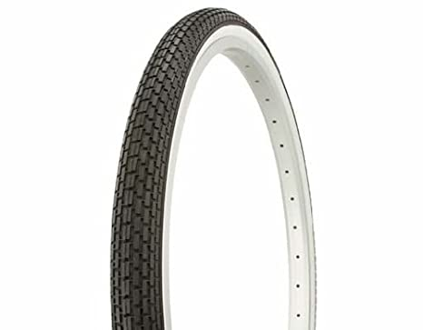 ONE 26 x 1 3//8 inch Whitewall Bicycle Tires White Wall Tyres Retro Road Bikes