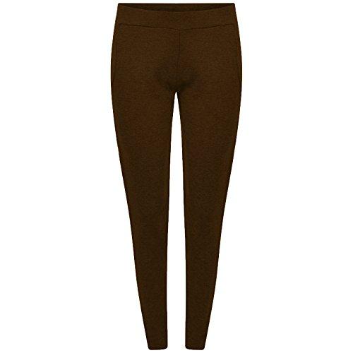 Get The Trend - Pantalón - tapered - para mujer moca