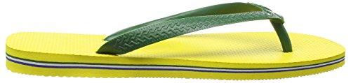 Havaianas Flip Flops Men/Women Brasil Logo Yellow (Citrus Yellow 2197) Ey7Glex2tL