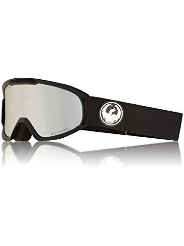 Dragon Alliance DX2 Ski Goggles, Black, Black/Luma Silver Ion Lens