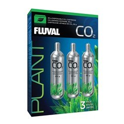 (Fluval 17559 Disposable 3.35 oz CO2 Cartridge (3 Pack))
