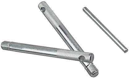UTMALL Wheel Hanger Pin Set 3PCS Pack Wheel Stud Alignment Guide Tool M14 x P1.5 Wheel Stud Pilot Pin Wheel Mounting Guide