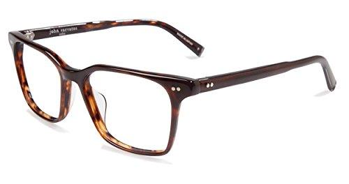 - John Varvatos Men's Eyeglasses V203 V/203 Brown Full Rim Optical Frame 54mm