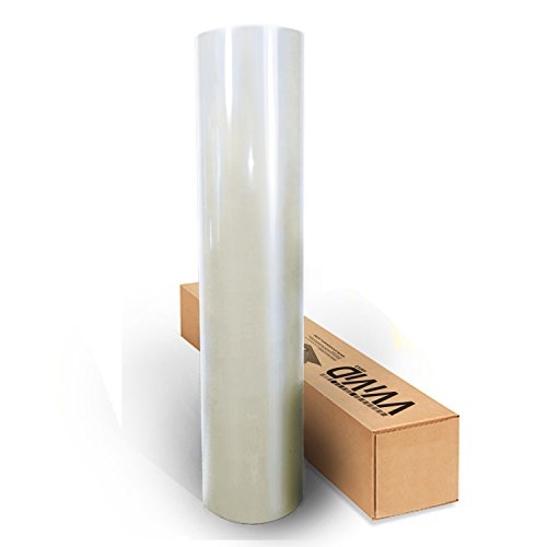 17.75 x 5ft Vivid Space Pearl White Gloss Vinyl Wrap Film for DIY No Mess Easy to Install Air-Release Adhesive