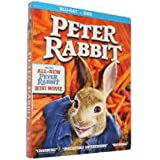 peter rabbit in blu-ray+dvd includes all new peter rabbit mini movies
