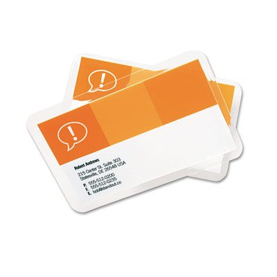 Heatseal Business Card - GBC3202000 - Swingline HeatSeal Laminating Pouches