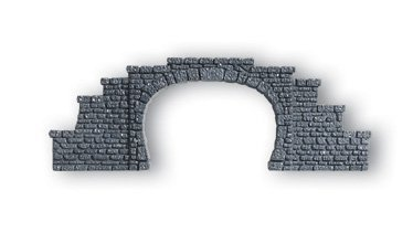N Scale double-track tunnel portals, set of 2 by Noch for sale  Delivered anywhere in USA