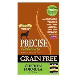 Precise Naturals Grain Free Chicken Dry Dog Food, 28-Lb Bag