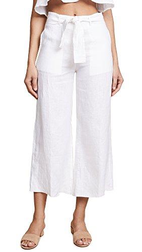 FAITHFULL THE BRAND Women's Como Pants, White, X-Small by Faithfull