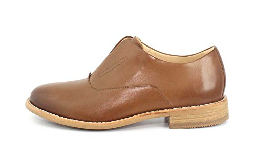Clarks Artisan Womens Edenvale Opal Casual Oxford Pelle Scura