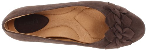 Pompa Wedge Teaberry Womens Color Terra Scura Taupe