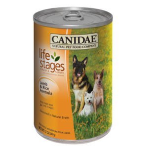 CANIDAE Life Stages Lamb and Rice Formula Canned Dog Food 12*13OZ by CANIDAE