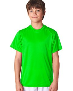 - Badger 2120 - Youth B-Dry Core T-Shirt with Sport Shoulders