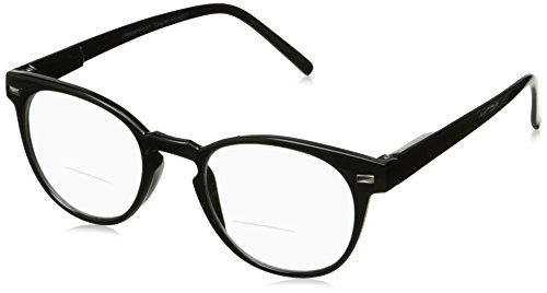 Peepers Men's Kennedy Bifocal 2292125 Round Reading Glass...