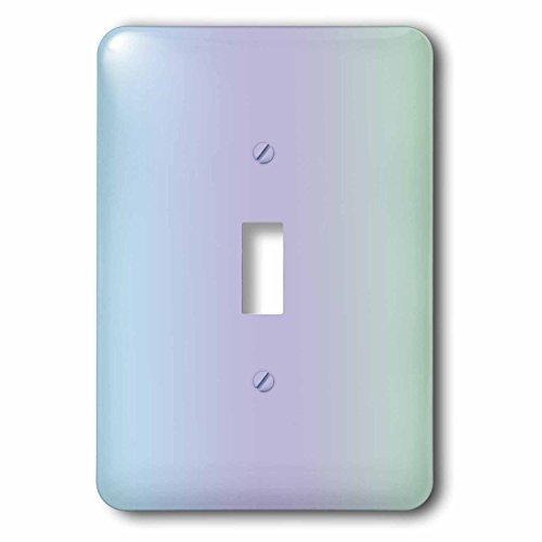 3D Rose lsp_212591_1 Print of Gradient Pastel Blue Violet into Mint-Single Toggle - Gradient Violet
