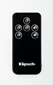 Klipsch OEM Remote Control for Klipsch R-10B ICON SB 1 SB 3 Speakers R 10B