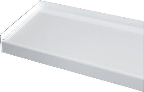 Fensterbank Putz Seitenteile 130 mm in Wei/ß