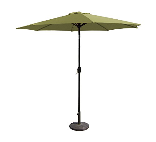 Budge Aluminum Patio Umbrella Function