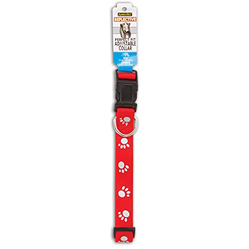Petmate Reflective Paw Dog Collar 1