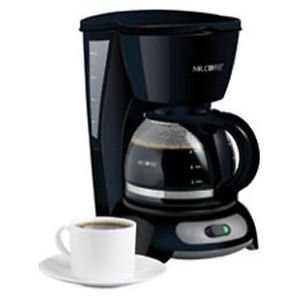 Mr. Coffee TF5 4-Cup Switch Coffeemaker Black Coffee Pot Brewer ;#G344T3486G 34BG82G367036