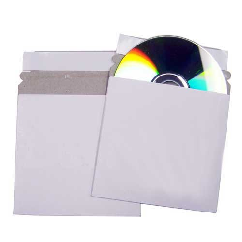 CD/DVD 6'' Cardboard Case Mailer W/ Flap & Seal, 400pcs by Gigablock
