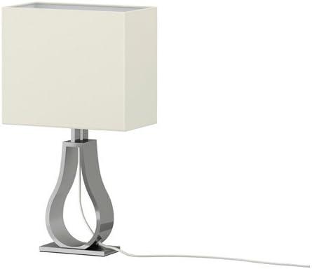IKEA Klabb - Lámpara de mesa, de color blanquecino: Amazon.es: Hogar
