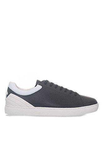 Emporio Armani Sneakers con Lacci da Uomo blu Comprar Barato Con Tarjeta De Crédito GQbE84F3gw