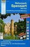 UKL 22 - Naturpark Spessart Blatt Süd 1 : 50 000: Aschaffenburg - Karlstadt - Miltenberg. Mit Wanderwegen, Radwanderwegen, Gitter für GPS-Nutzer