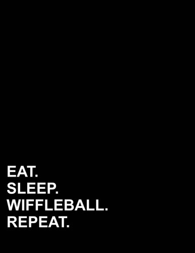 "Eat Sleep Wiffleball Repeat: Three Column Ledger Accounting Paper, Appointment Book, Business Ledgers And Record Books, 8.5"" x 11"", 100 pages (Volume 62) pdf"