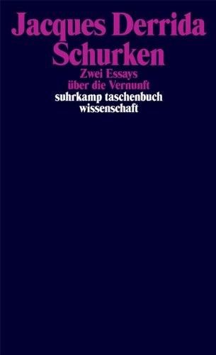 Schurken: Zwei Essays über die Vernunft (suhrkamp taschenbuch wissenschaft)