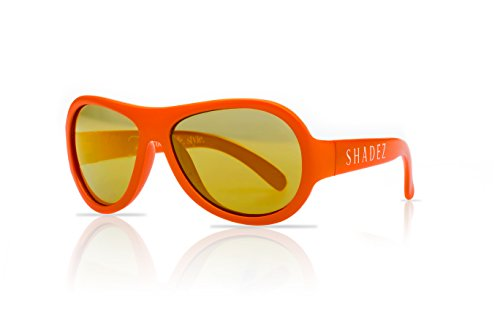SHADEZ Kids Flex Frame Aviator Sunglasses 100% UV Protection for Baby, Children and - Replace Lenses In Sunglasses