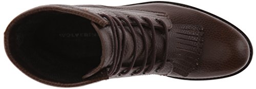 Wolverine 1883 by Womens Rosie 6 Inch Kiltie Lace-Up Western Boot Taupe P46VKKu
