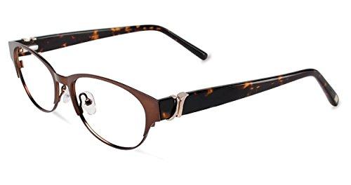 JONES NEW YORK Eyeglasses J481 Brown 52MM