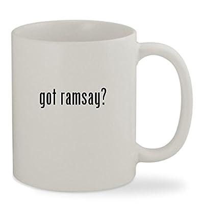 got ramsay? - 11oz White Sturdy Ceramic Coffee Cup Mug