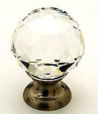 Satin Brass Crystal - 9