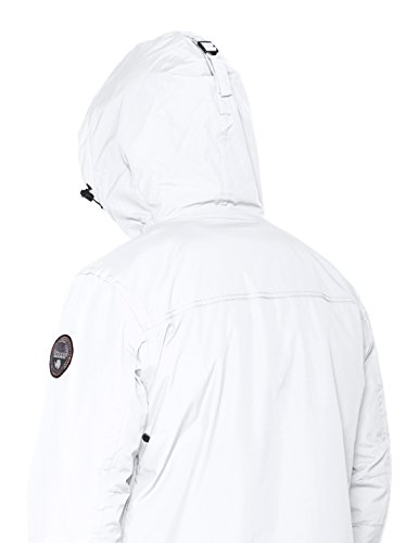 White bright Napapijri Giacca 002 Rainforest Bianco Winter Uomo RwxpP4q6