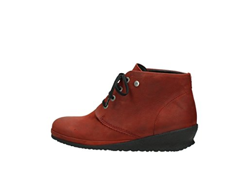 Nubuck Wolky Hiver Sacramento Rouge 11542 Comfort lacets Chaussures à wrRxAOqrY